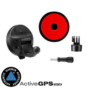Garmin VIRB X, VIRB XE and VIRB Ultra 30 Auto Dash Suction Mount