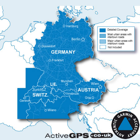 garmin city navigator nt 2018 alps germany austria and switzerland