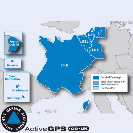 The Map Of France With The City.Garmin City Navigator Nt 2020 Benelux And France Sat Nav Map Sd Card