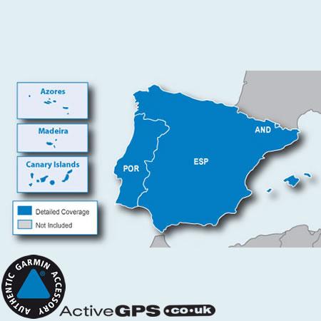 Garmin City Navigator NT 2020 Spain and Portugal sat nav