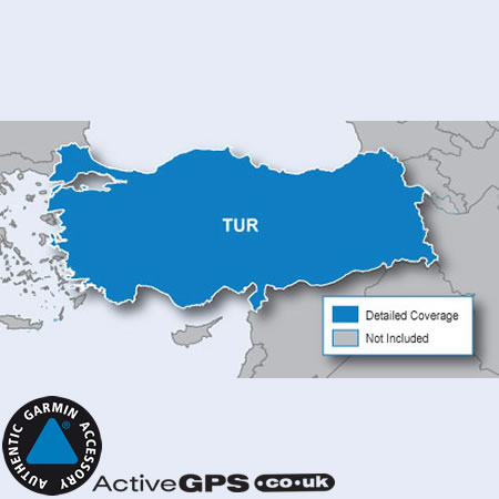 Garmin City Navigator NT 2018 Turkey sat nav maps on SD card
