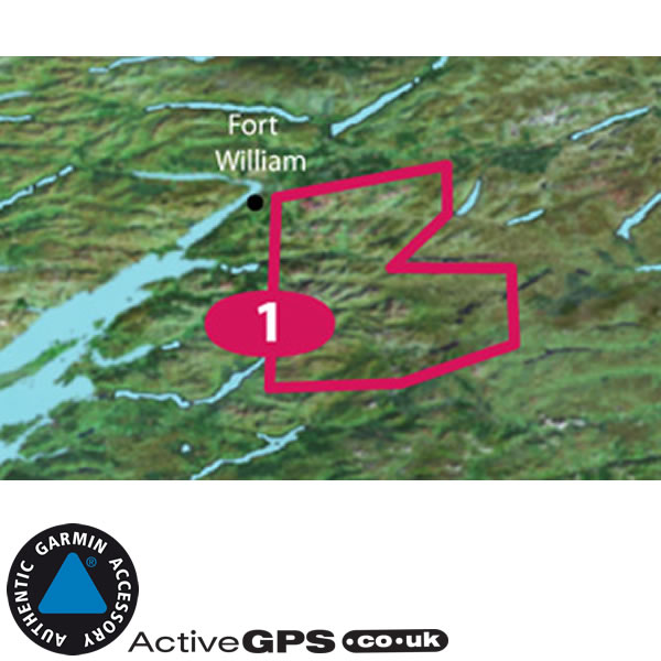 Garmin GB Discoverer 1:25K (discontinued) Maps of Ben Nevis and