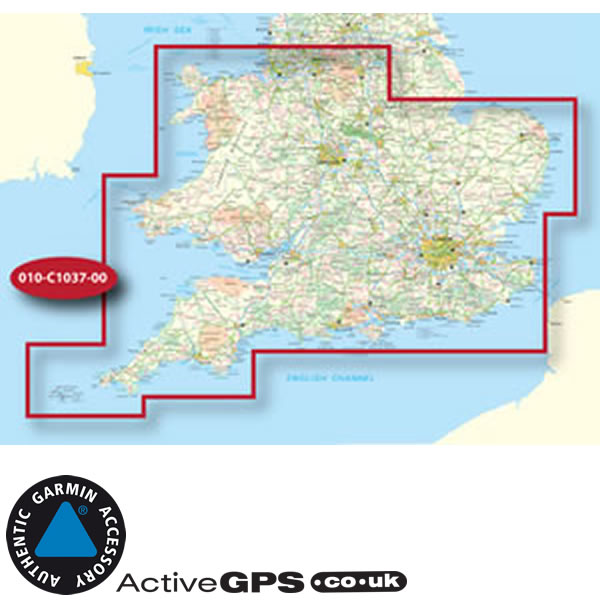 Map Of Southern England Uk.Garmin Gb Discoverer Southern England And Wales 1 50k Os Maps 010