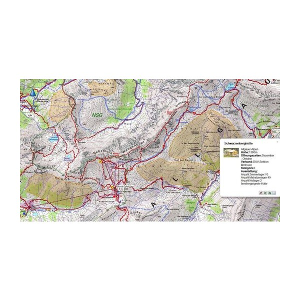 Garmin TOPO Alpenvereinskarten v4 (Alpine Club Maps) on SD/microSD