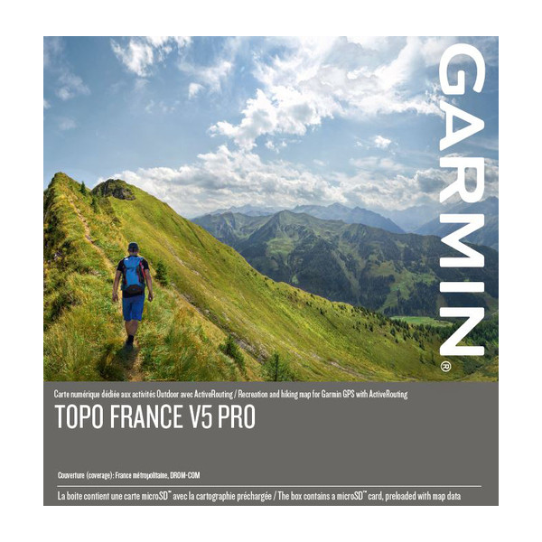 Map Of France Mountains.Garmin Topo All Of France V5 Pro Maps On Sd Microsd Card 010 12746 00