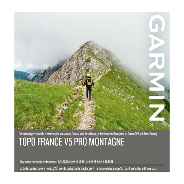 Map Of France With Mountains.Garmin Topo France V5 Pro Montagne French Mountains Alps