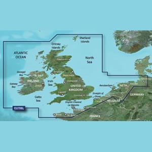 Garmin BlueChart g2 HD: UK Ireland The Netherlands