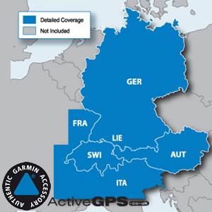 Garmin City Navigator NT Alps Germany Austria And Switzerland - Germany map for garmin