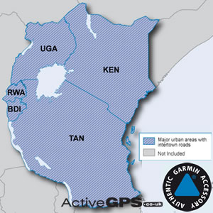 africa map for garmin