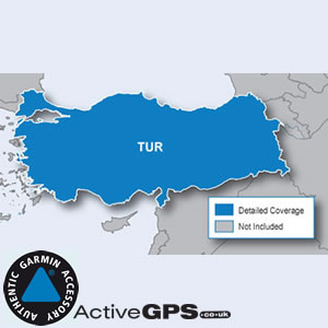 Garmin City Navigator NT 2018 Turkey sat nav maps on SD card