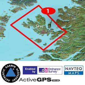 Garmin GB Discoverer discontinued 125k Maps of Isle of Skye