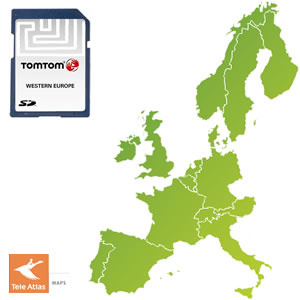 tomtom maps to sd card