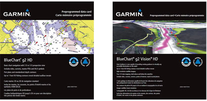 Garmin BlueChart g2 HD and g2 Vision HD