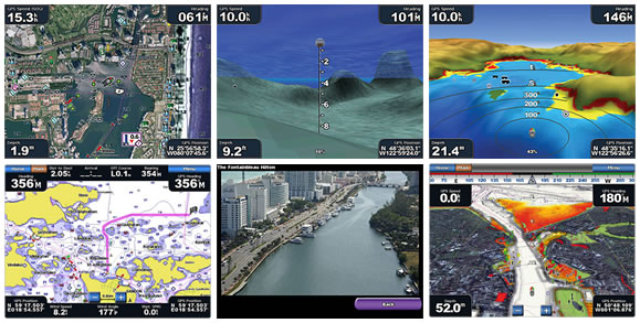 BlueChart g2 HD and g2 Vision HD screen shots