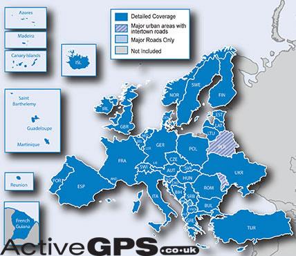 Garmin Update Software >> Garmin City Navigator NT 2019 Europe sat nav maps on SD card - 010-10680-50