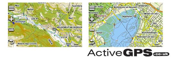 Garmin TOPO Austria V PRO Maps On Preprogrammed MicroSDSD Card - Topographic map of austria 2008