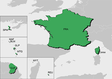 Garmin TOPO All of France v5 PRO Maps on SD/microSD Card