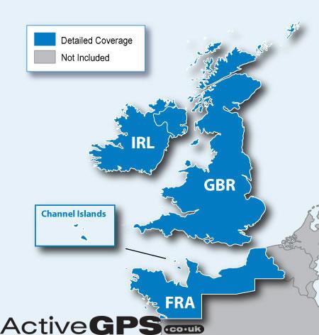 Garmin City Navigator NT UK And Ireland SD Card Sat Nav Map - Garmin maps for united kingdom