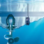 Garmin 4-pin Dual Beam Transon Mount Plastic 500W Transducer