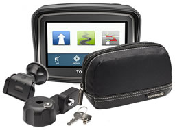 TomTom Rider V5 Premium Pack version includes extra accessories