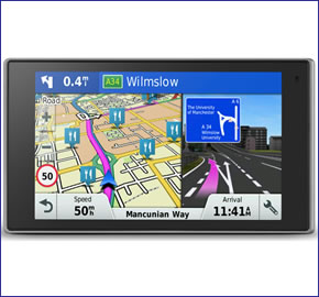 garmin drivesmart 61lmt d sat nav with lifetime european maps. Black Bedroom Furniture Sets. Home Design Ideas