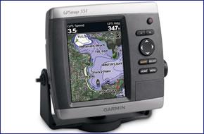 Garmin GPSMAP 551 and GPSMAP 551s (discontinued) marine GPS