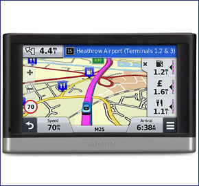 Garmin nuvi 2508LMT-D (discontinued) 5-inch Sat Nav with lifetime