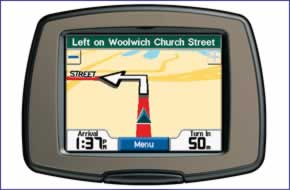 Garmin StreetPilot c310 (discontinued) GPS in car sat nav