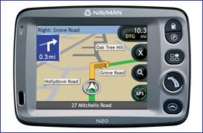 Navman N20 (discontinued) GPS satellite navigation system