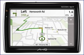 Mio Navman S555 Hands-free Traffic (discontinued)