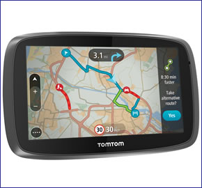 tomtom go 6100 world car sat nav with worldwide maps. Black Bedroom Furniture Sets. Home Design Ideas