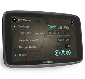 tomtom go professional 6250 truck sat nav with lifetime maps and traffic rh activegps co uk