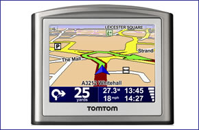 Tomtom one updating maps